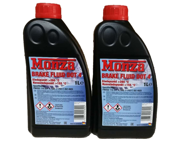保定Monza Brake Fluid DOT 4马速车辆制动液DOT 4